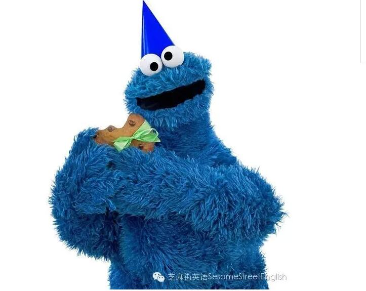 芝麻街布偶:Cookie Monster