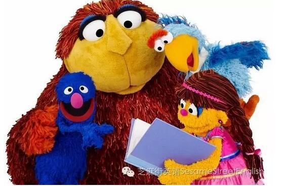 《芝麻街》儿童学英语必备!图片