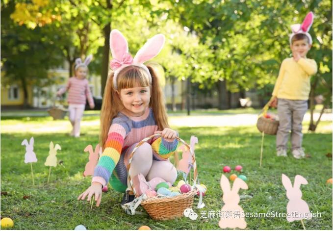 兔子的英文  复活节兔子给我们来了什么?