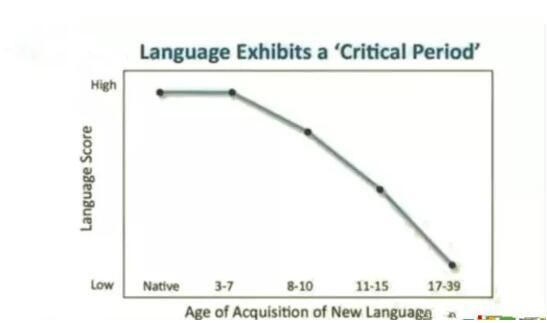 语言学习关键期的存在是毋庸置疑的
