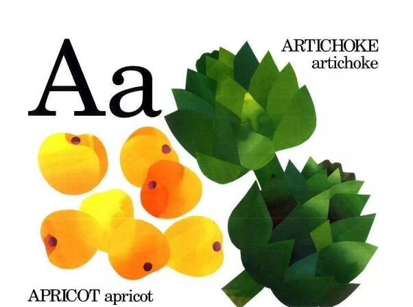 儿童学英文字母:《Eating the Alphabet》