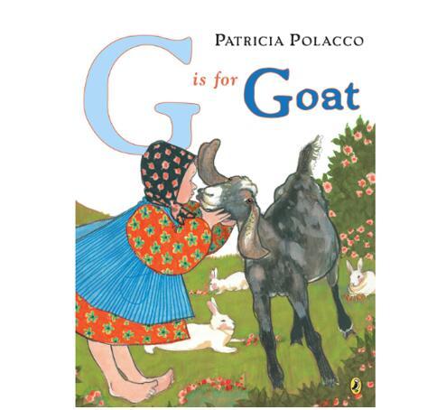 英文字母学习绘本:《G Is for Goat》