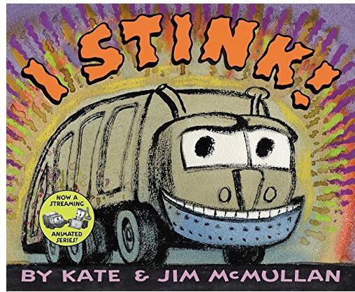 英文字母学习读物:《I Stink!》