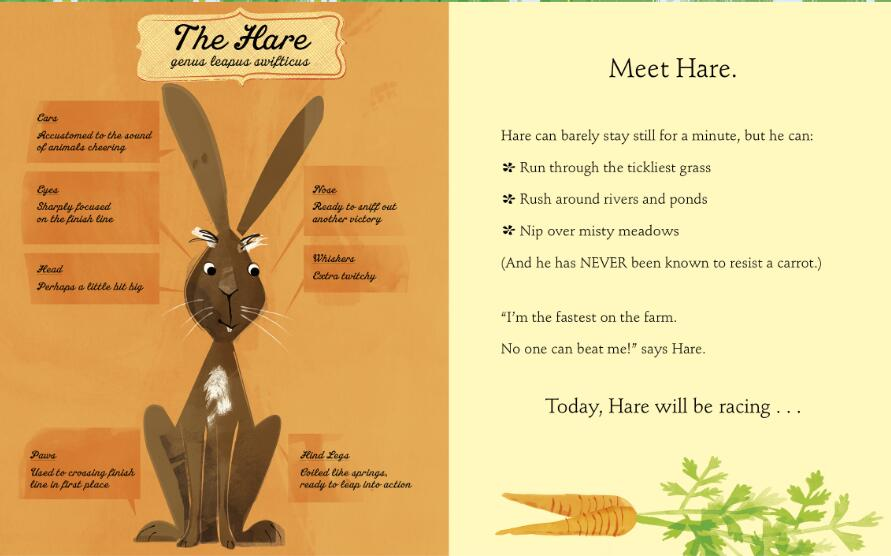 Alison Murray《Hare and Tortoise》